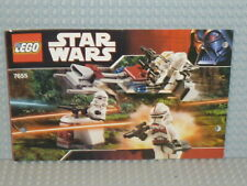 LEGO® Star Wars Bauanleitung 7655 Clone Trooper Pack instruction gelocht B2841