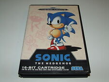 SONIC THE HEDGEHOG for  Mega drive (PAL) COMPLETE