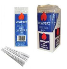 Newport Pfeifenreiniger 50 Stück/ Packung aus Baumwolle 150mm Lang Chenilledraht