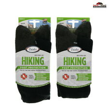 Thorlo Mens Thick Padded Hiking Socks 2 Pair Size M ~ New