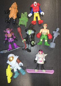 Imaginext Blind Bag Series 4 Lot of Seven Figures w/ Accessories