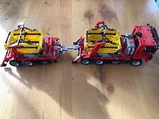 LEGO 42024 Technik Container-Truck (42024) + Power Functions Set (8293) + Hänger