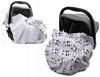 NEW CAR SEAT BABY WRAP TRAVEL WRAP CAR SEAT BLANKET GREY /& WHITE CHEVRON