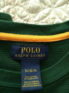 Ralph Lauren Olive Green Top Size Xl Men