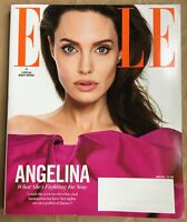 ELLE Magazine MARCH 2018 NEW Angelina JOLIE What She's Fighting For Issue 391