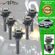 5x Ignition Coils for Volvo C30 C70 S40 S60 S80 V50 V70 Ford Focus Mondeo XR5