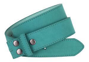 """Belts for Men & Women Unisex Suede Vegan Belt Strap 1 1/2"""" Wide Multi-Color"""