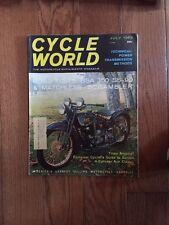 Cycle World Magazine July 1963 BSA 350 VG