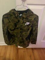 Boys Nike Camoflauge Jogger Set Sweatpants/ Jacket size m