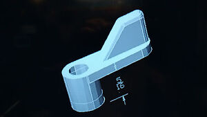 "Window Sreen Swivel Clip Plastic 5/16"" bag of 100 pcs."