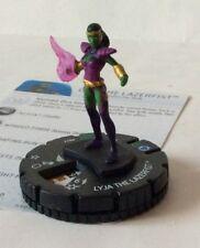 HeroClix Galactic Guardians #017  LYJA THE LAZERFIST   MARVEL