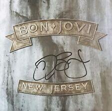 Bon Jovi Signed Album Jon Bon Jovi Autographed Vinyl (Richie Sambora Tico Torres
