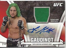 LOUIS GAUDINOT 2013 UFC KNOCKOUT AUTO RELIC