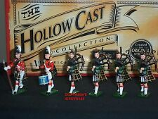 BRITAINS 41001 HOLLOWCAST CAMERON HIGHLANDERS BAND METAL TOY SOLDIER FIGURE SET1