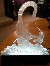 DISNEY TIGGER AND WINNIE THE POOH LIGHTED SCULPTURE BY BOLAE VERY RARE # 22/25