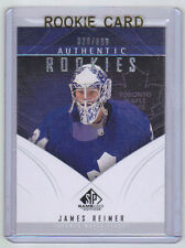 09-10 SP Game Used James Reimer Rookie Card RC #157 /699 Mint