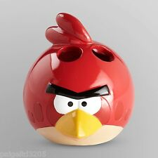 Angry Birds Ceramic Toothbrush Holder - Red Bird