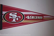 San Fransisco 49ers Pennant NFL Brand New Full Size - no hang tag