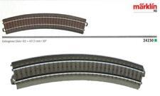 Märklin 24230 H0 - gebogenes Gleis R2 437mm, 30° NEU