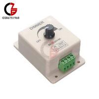Adjustable 12V 8A PIR Sensor Switch LED Strip Light Dimmer Brightness Controller