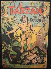 Tarzan Platinum Age Coloring Book (Uncolored) 1933