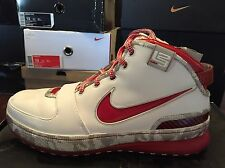 Men's Nike Zoom LeBron VI 3M Ohio State Basketball Shoes 346526-161 Size 13