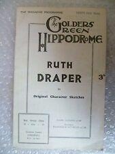 1933 Golders green  WILD JUSTICE a Murder Thriller R Draper,H Oscar,B Couper