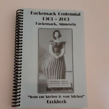 Hackensack, Minnesota Celebrating Hackensack Centennial 100 Years Cookbook