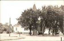 Laurens IA Christian Church Real Photo Postcard