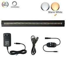 Thinnest LED Under Cabinet Lighting Dimmable Warm White 5W 450 LM CRI90All Ac...