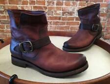 Frye Redwood Brown Leather Veronica Ankle Boot Bootie 7.5 New
