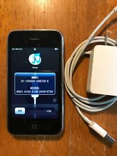 Black Apple iPhone 3G 8GB AT&T Cell Phone A1241