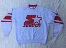 Vintage Starter Spellout Big Logo Sweatshirt Men's Large Athletic