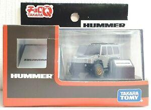 Takara Choro Q HUMMER H2 GRAY/SILVER Penny Racer car