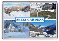 SELVA GARDENA, Ski resort Italy Fridge Magnet