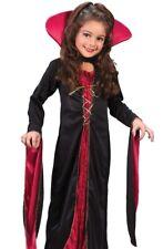 Fast S 4-6 Vampire Costume Dress Girls Victorian Vampiress M 8-10 L 12-14