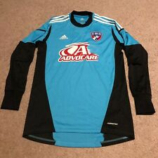 Adidas Climacool FC Dallas MLS GK Goalkeeper Jersey Mens Sz Large