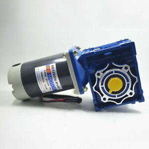 12V / 24V Worm Gear Speed Reducer Gearbox Electric RV Gear Motor High Torque DC