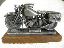 GENUINE HARLEY DAVIDSON 1942 XA MILITARY PEWER MOTORCYCLE SCULPTURE