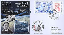 "VA219L-T1 FDC KOUROU ""ARIANE 5 Rocket Flight 219 / ATV-5 Georges LEMAÎTRE"" 2014"