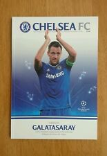2013/14 CHELSEA v GALATASARAY - CHAMPIONS LEAGUE -  EXCELLENT CONDITION