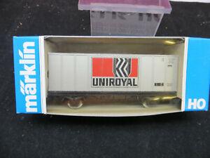 Märklin H0 Sondermodell Containerwagen Uniroyal DB BetrNr 12 10304 MHI NEUWERTIG