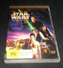 STAR WARS RETURN OF THE JEDI LIMITED EDITION DVD REGION 4 VGC THEATRICAL VERSION