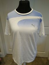 Puma Dry Cell T-shirt Large Mens white cotton