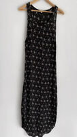 FLYNN SKYE Black & White Print Slip Maxi Midi Dress Size 3 AU 10