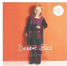 Baby Cashmerino Book 4 Knitting Patterns Debbie Bliss Baseball Jacket Dress +