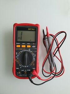 Multímetro digital SNT18L+ MEDIDOR DE TENSION