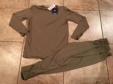 New Gen III ECWCS Lightweight Undershirt Drawers Polartec - Medium R Brown #yzkf