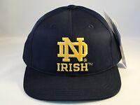 Toddler Size NCAA Notre Dame Irish Vintage Adjustable Strap Hat Cap Navy