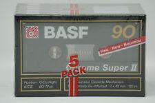 1x BASF Chrome super II 90 Cassette Tape 1989 &